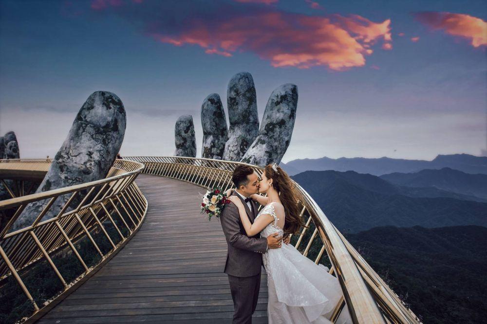 Mách các cặp đôi địa điểm lý tưởng cho bộ ảnh cưới cổ tích tại Đà Nẵng