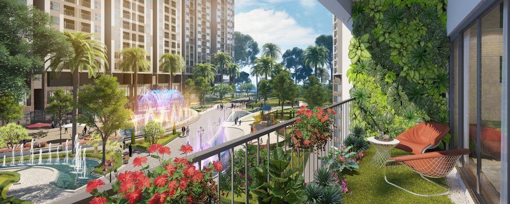 """Căn hộ nhìn vào nội khu Imperia Sky Garden được cho là căn hộ có tầm nhìn """"triệu đô"""""""