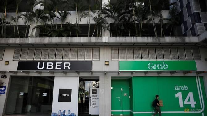 Quang cảnh các văn phòng Uber và Grab tại Singapore vào ngày 26 tháng 3 năm 2018. Read more at https://www.channelnewsasia.com/news/singapore/grab-uber-fined-after-merger-deal-competition-watchdog-10751522