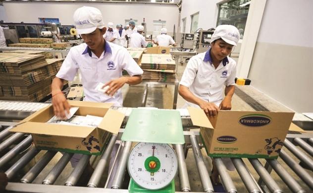 Vinamilk trong cuộc đua xuất ngoại sữa Việt