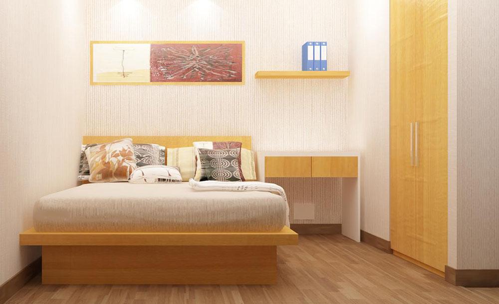 Thiết kế thông minh cho phòng ngủ có diện tích 11 m2