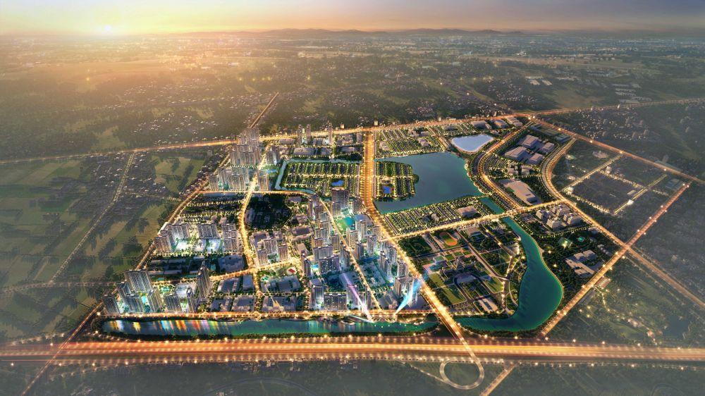 Phối cảnh tổng thể dự án VinCity Ocean Park
