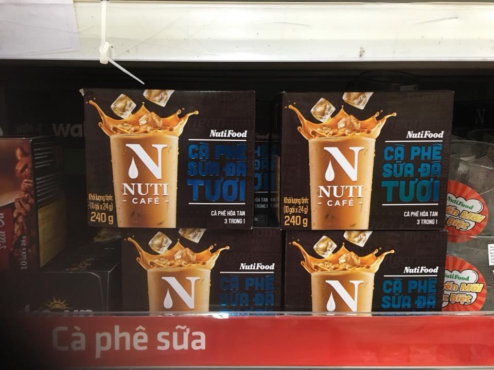 Sản phẩm cà phê được quảng cáo rầm rộ của Nutifood.