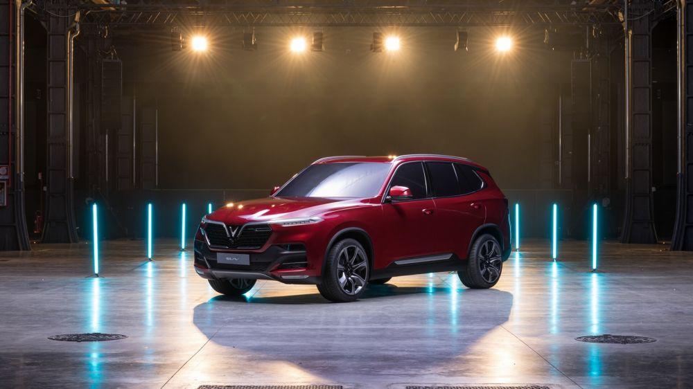 Vinfast công bố tên xe - Lux A2.0 và lux SA2.0