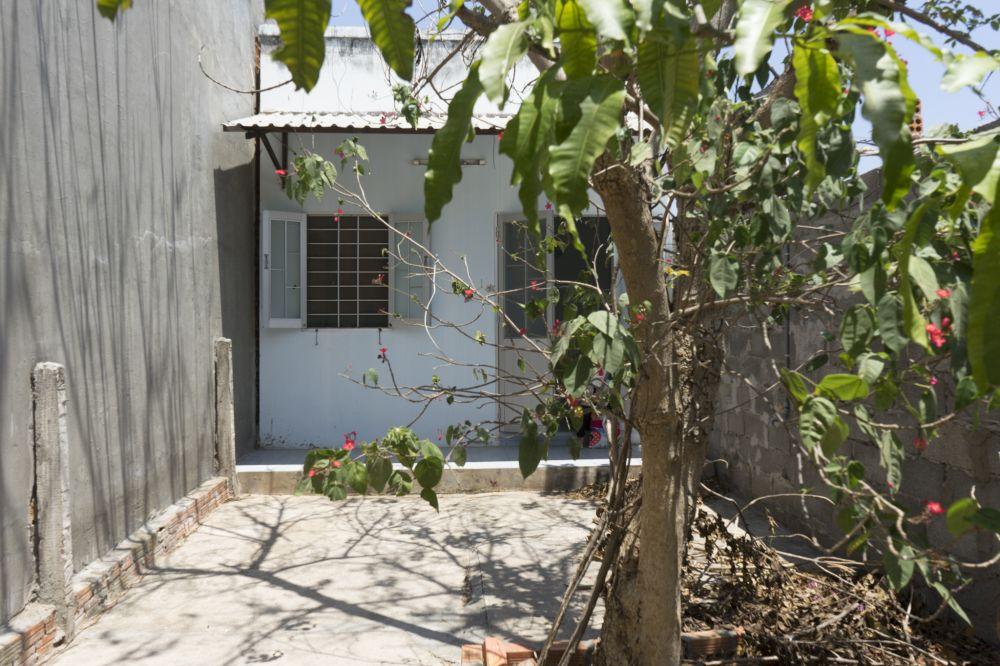 Căn nhà cũ chưa cải tạo.