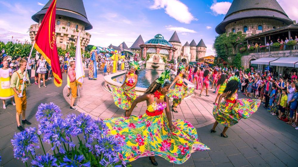 Dạo các Sun World, say mê trong lễ hội suốt bốn mùa