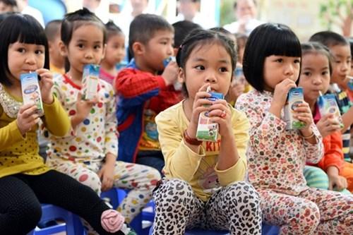 TP.HCM dành gần 1.135 tỷ đồng để triển khai chương trình sữa học đường