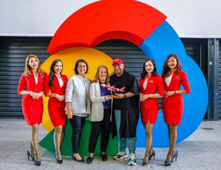 Hãng hàng không AirAsia hợp tác Google Cloud phát triển kinh doanh số