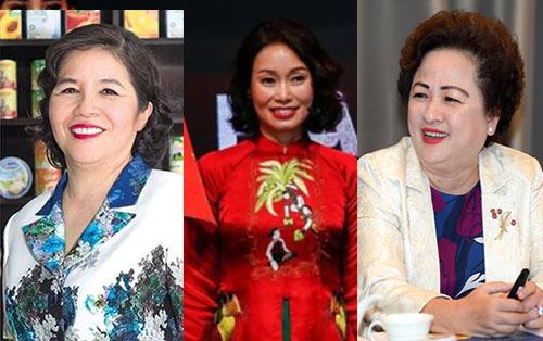 Những nữ doanh nhân xinh đẹp và quyền lực của Việt Nam