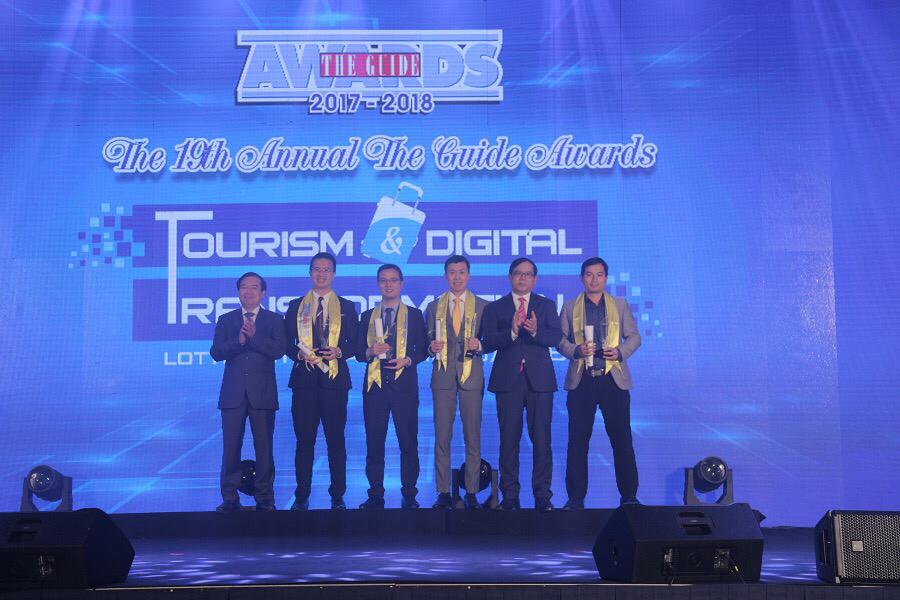 Cầu Vàng Đà Nẵng được The Guide Awards vinh danh