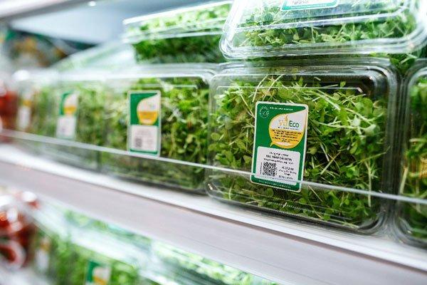 Rau VinEco hiện đang được bán độc quyền tại các chuỗi 100 siêu thị VinMart và hơn 1.400 cửa hàng VinMart+