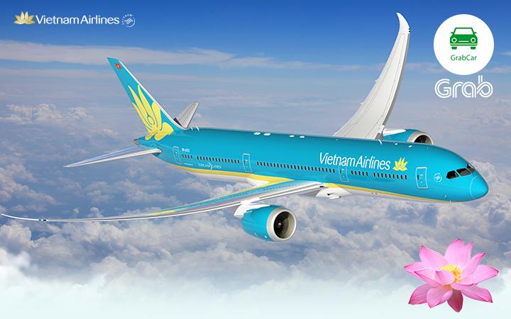 Khách hàng của Grab sắp được đổi điểm thành chuyến bay Vietnam Airlines