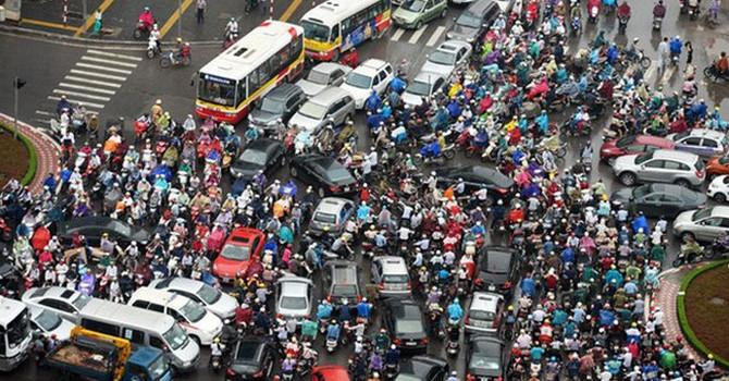 Chính phủ cho phép Hà Nội lập đề án thu phí vào nội đô để giảm ùn tắc