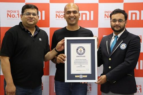 Xiaomi lập kỷ lục Guinness khi mở hơn 500 cửa hàng Mi Store cùng lúc