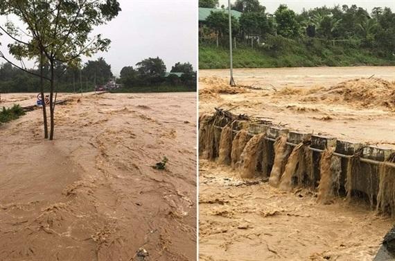 Những thiệt hại đầu tiên do cơn bão số 9 ở Bình Thuận và Khánh Hòa