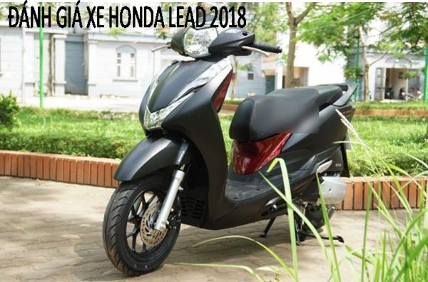 Honda Lead smartkey 2018 có gì nổi bật, giá bán bao nhiêu?