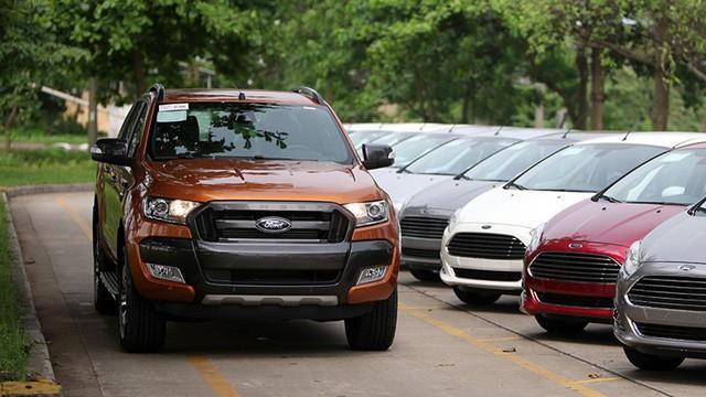 Triệu hồi hơn 17.000 dòng xe Ford tại Việt Nam
