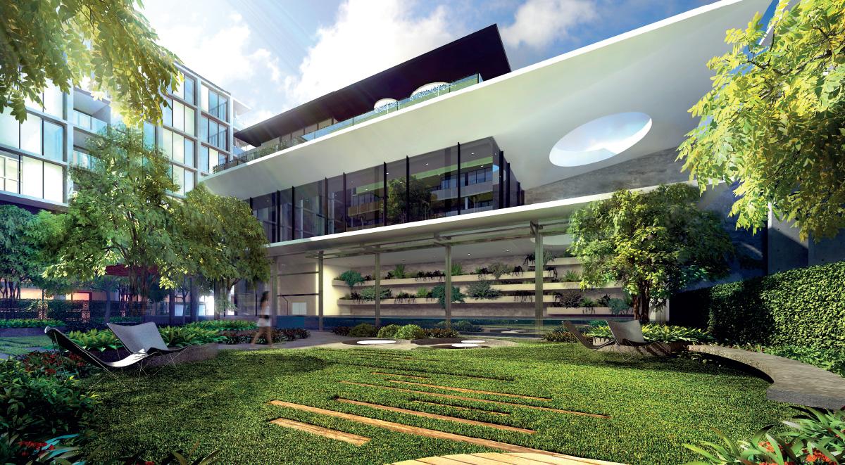 ông Võ cho rằng vào lúc này, các dự án xây dựng chung cư đã phát triển nhiều quá rồi thì dự án nào có triết lý xanh càng lớn thì sẽ càng có giá trị cao
