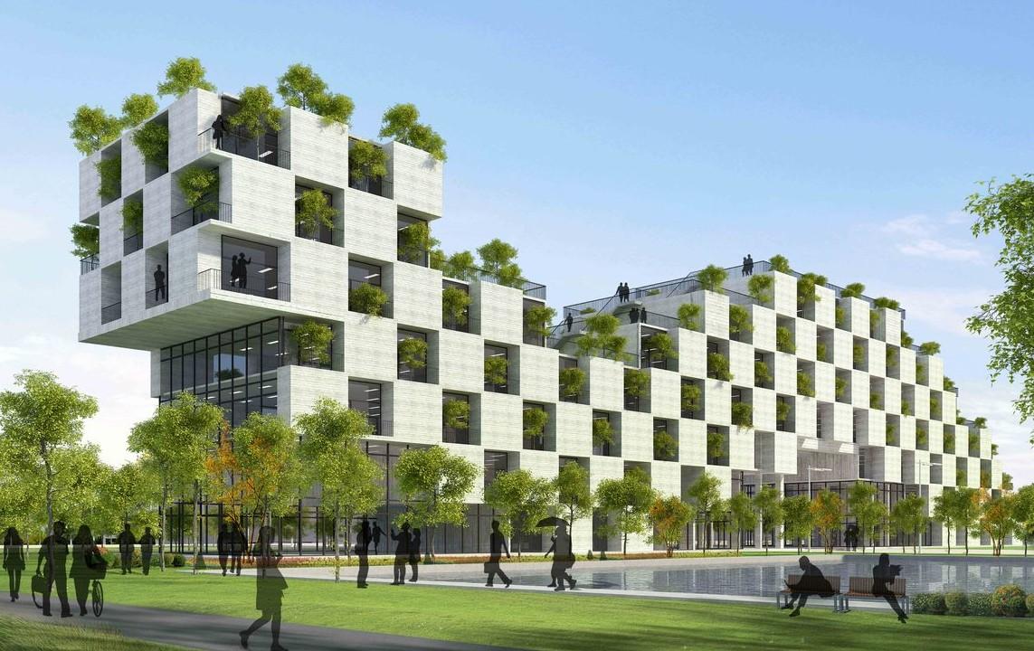 Xây dựng công trình xanh đang là xu hướng trên toàn cầu