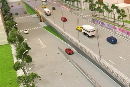 Hà Nội: Sắp triển khai xây dựng hầm đường bộ xuyên đê sông Hồng