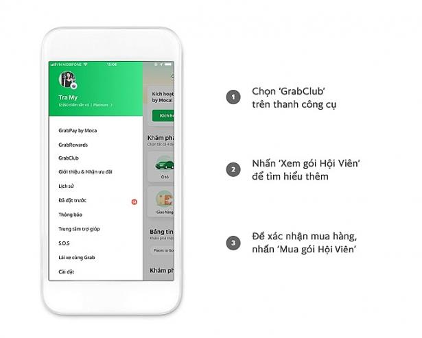 Grab thử nghiệm chương trình Gói hội viên GrabClub, tiết kiệm 40% cho người dùng