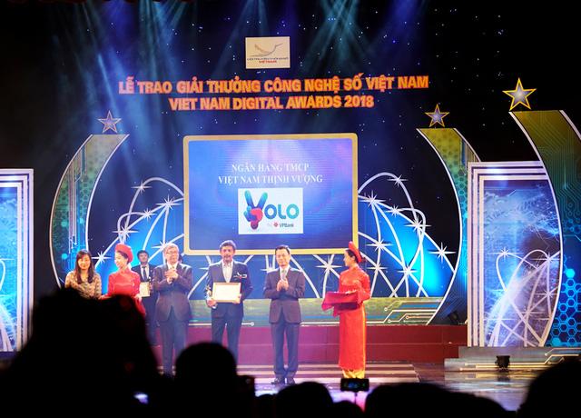 """Ngân hàng số YOLO của VPBank nhận giải thưởng """"Ứng dụng di động xuất sắc"""" 2018"""