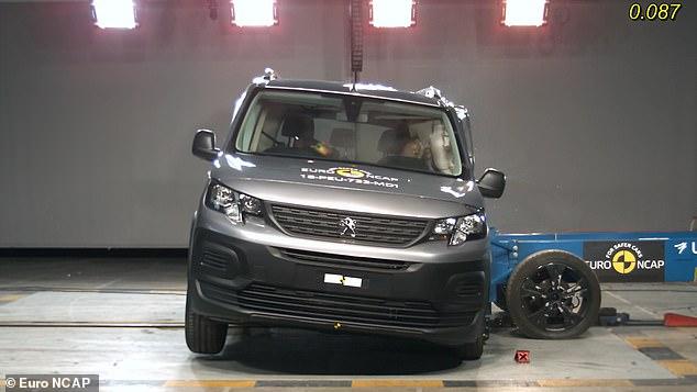 Peugeot thuộc nhóm xe kém an toàn