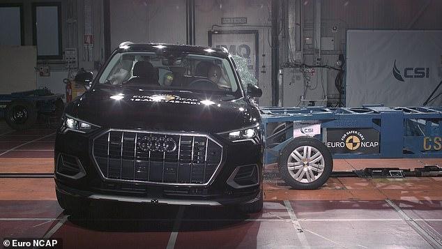 Audi Q3 xếp số 1 về độ an toàn