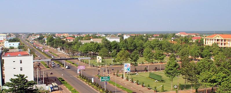 Bình Phước đã phủ kín quy hoạch đô thị