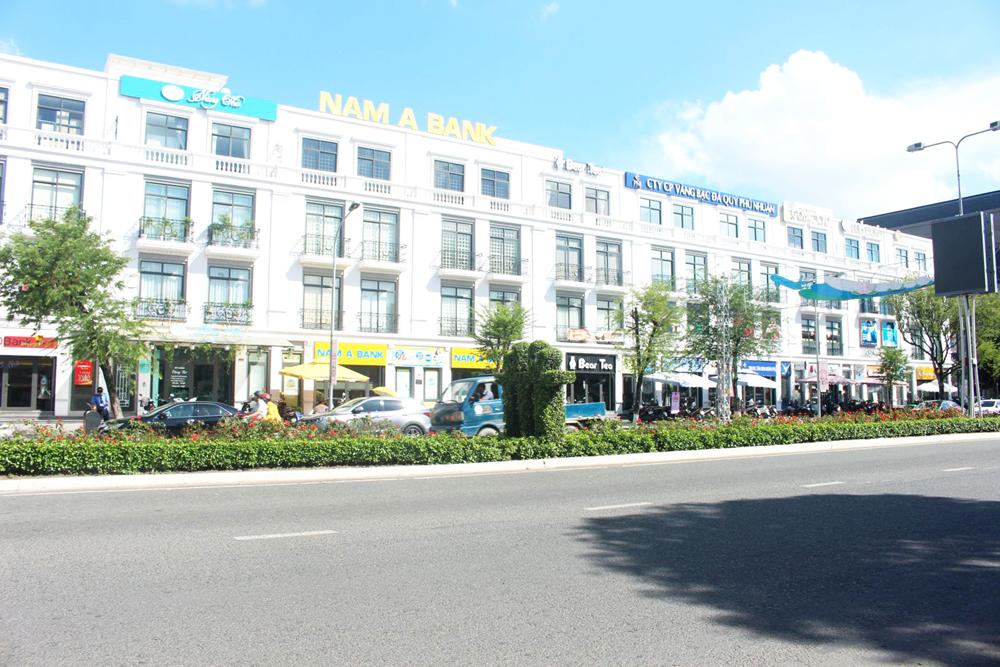 Các căn hộ shophouse thuộc dự án Vincom Xuân Khánh góp phần làm đa dạng sản phẩm bất động sản tại TP Cần Thơ.