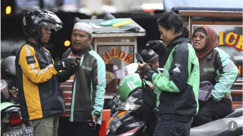 Chính phủ Indonesia áp dụng khung giá mới cho Grab và Go-Jek