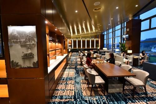 Phòng chờ hạng thương gia đẹp như khách sạn 5 sao tại Cảng hàng không quốc tế Vân Đồn