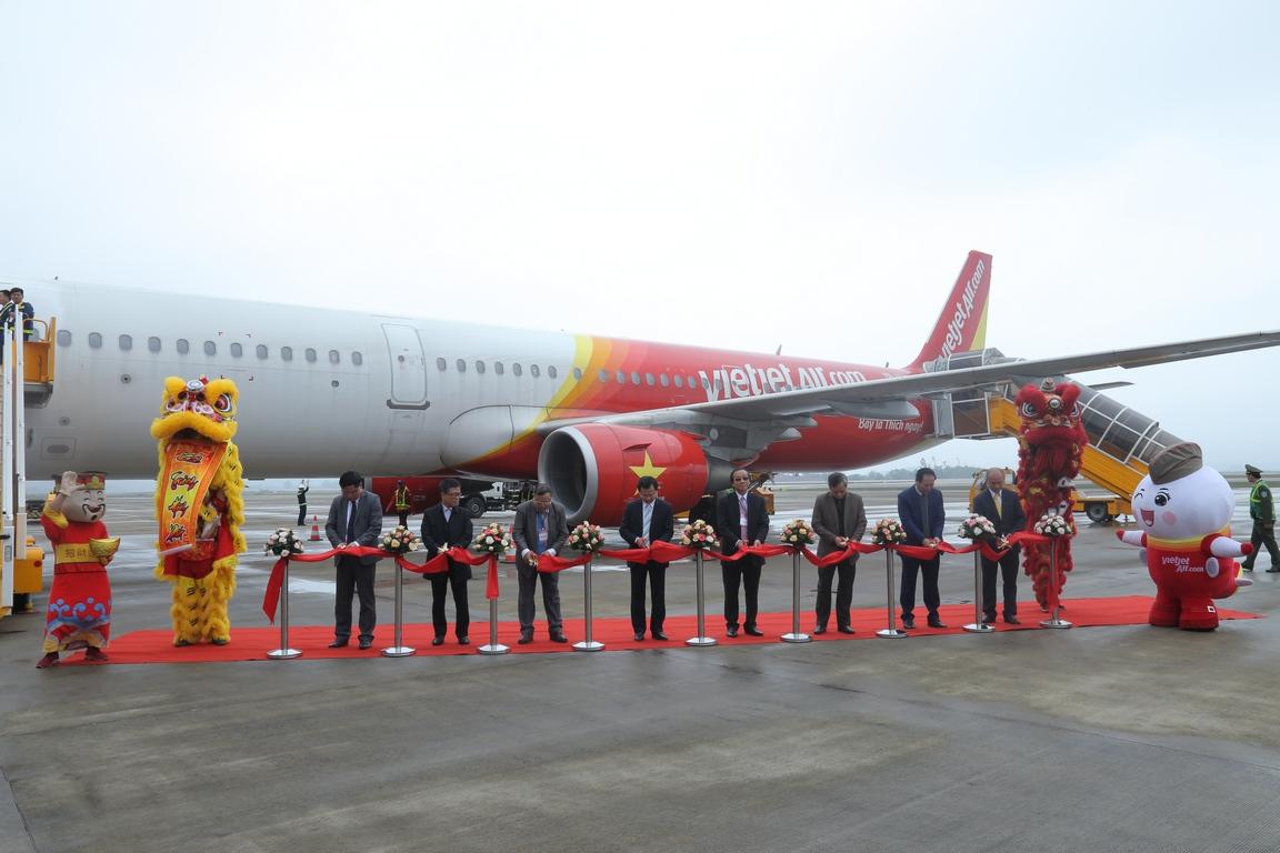 Vietjet Air chính thức khai  trương đường bay TP. Hồ Chí Minh – Vân Đồn