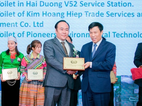 """Việt Nam nhận giải thưởng """"Nhà vệ sinh công cộng tốt nhất ASEAN"""" năm 2019"""