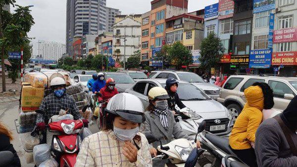 Cận tết, đường phố Hà Nội