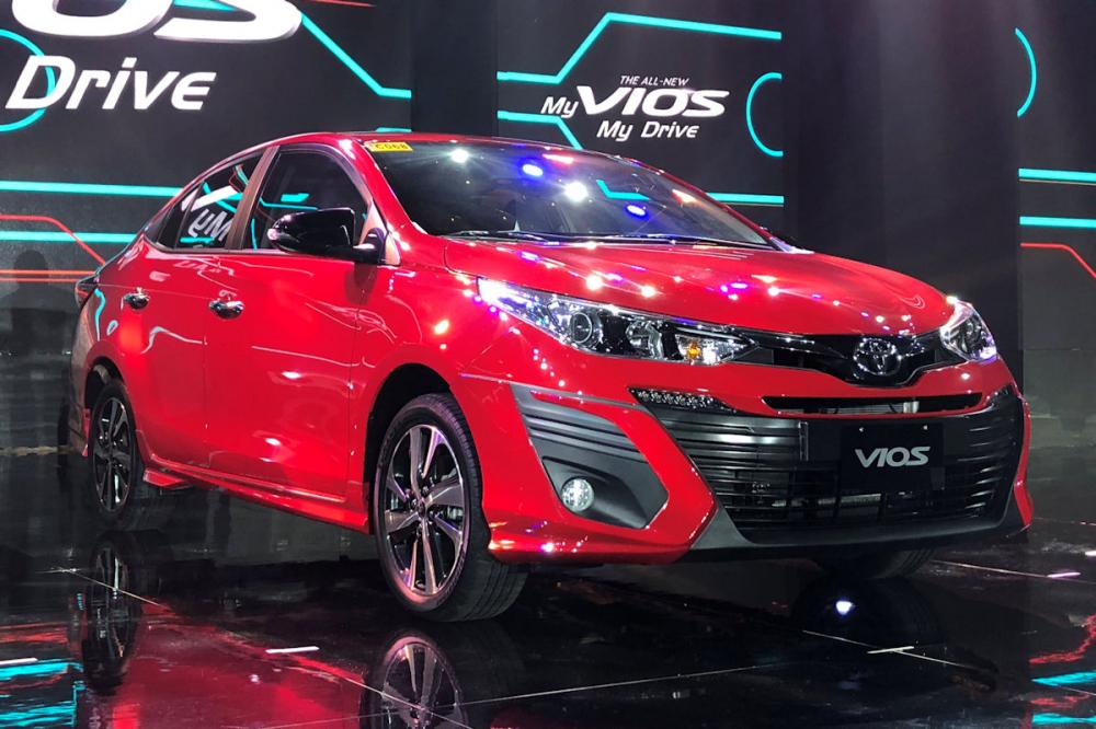Đánh giá chi tiết ngoại, nội thất, vận hành Toyota Vios 2019 mới