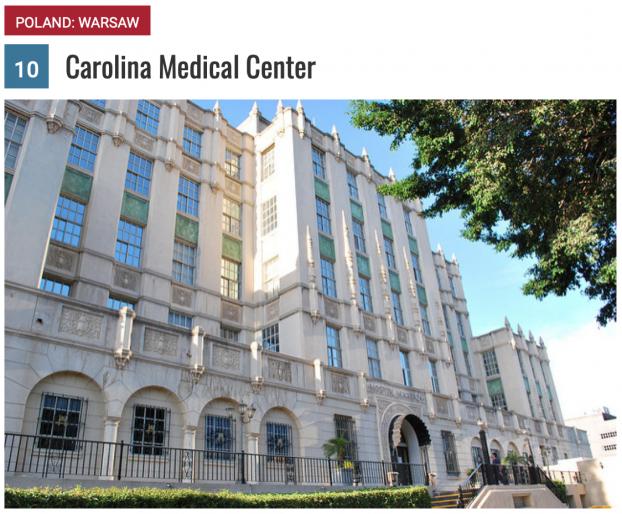 10 bệnh viện du lịch y tế tốt nhất năm 2018