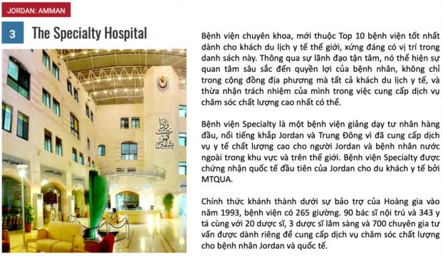 10 bệnh viện du lịch y tế tốt nhất năm 2018 2