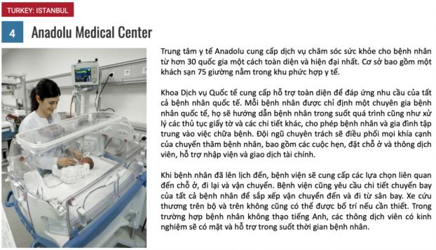 10 bệnh viện du lịch y tế tốt nhất năm 2018 3