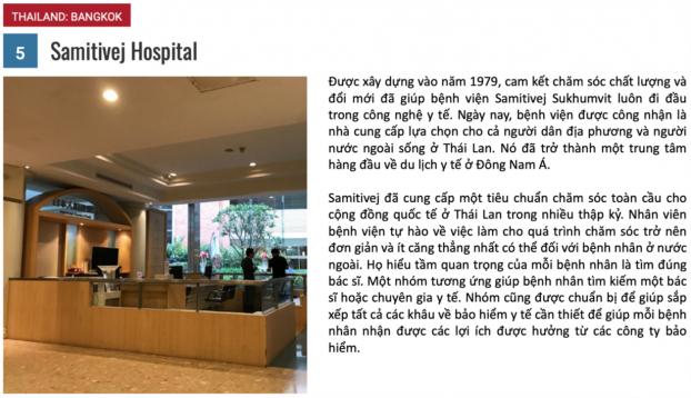 10 bệnh viện du lịch y tế tốt nhất năm 2018 4