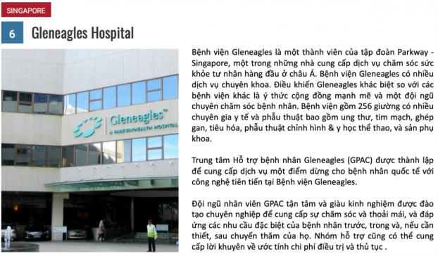 10 bệnh viện du lịch y tế tốt nhất năm 2018 5