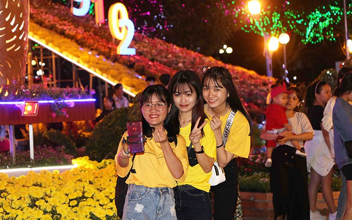 Ninh Thuận: Độc đáo Vườn hoa Xuân Kỷ Hợi