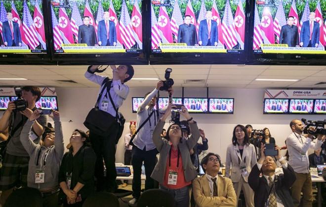 Truyền thông quốc tế cấp tập chuẩn bị cho cuộc gặp Trump - Kim ở Hà Nội
