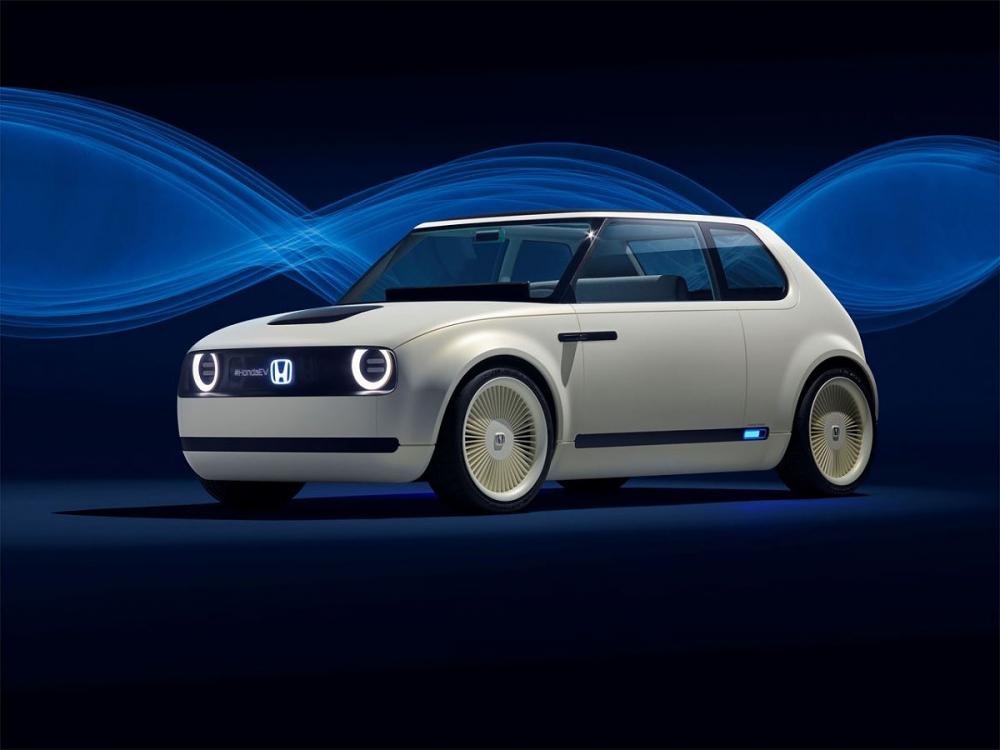 Xem trước mẫu xe điện mới toanh của Honda sắp trình làng