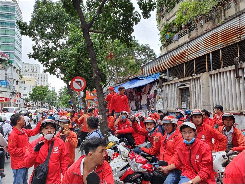 Thưởng không thỏa đáng, tài xế Go-Viet nhất loạt đình công