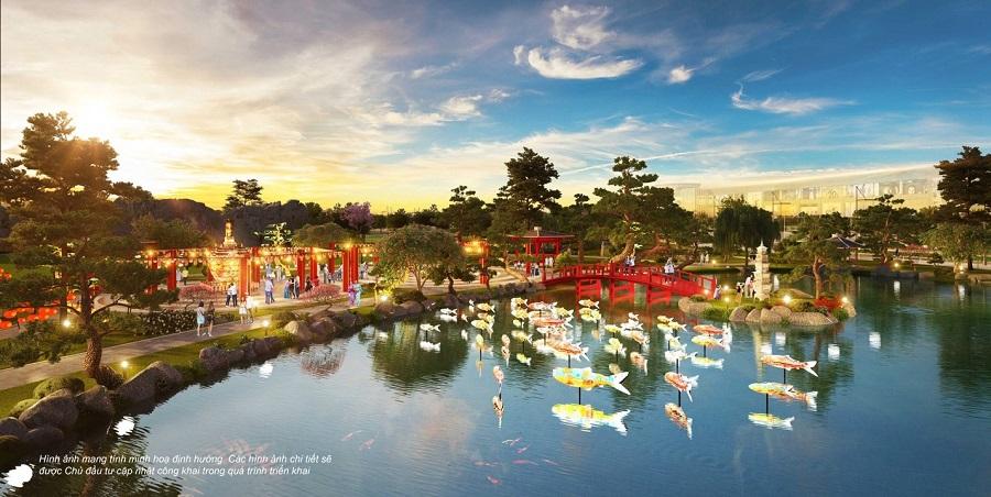 Vườn Nhật quy mô hơn 6ha - nghệ thuật cân bằng cuộc sống tại Vinhomes Smart City