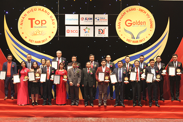 """Top 20 """"Sản phẩm vàng Việt Nam2017"""