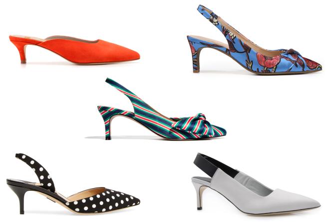 Xu hướng giày mùa hè: Thoáng mát và thời trang