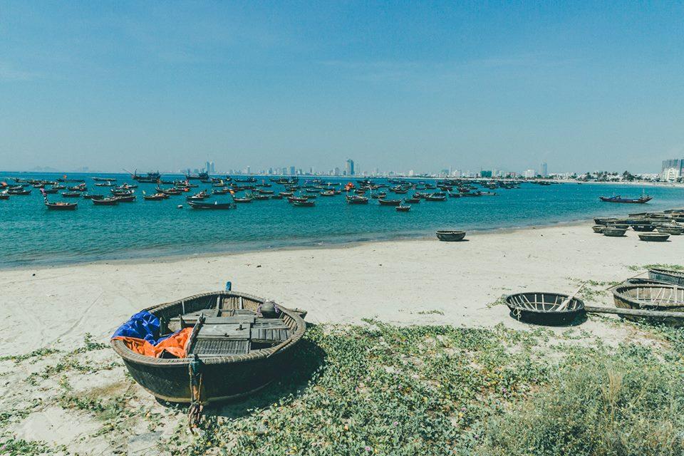 Biển Mỹ Khê là một trong những bãi biển đẹp nhất Đà Nẵng (Ảnh: Lê Quang Khải)