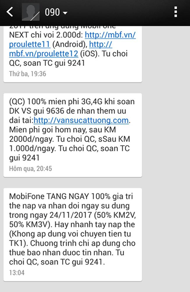 MobiFone đã có những lần khuyến mại lên tới 100% giá trị thẻ nạp trong thời điểm hạn mức khuyến mại chỉ là 50%.